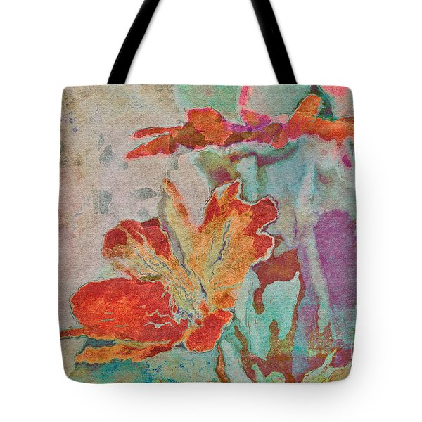 Pretty Bouquet - A09z7bt2 Tote Bag by Variance Collections