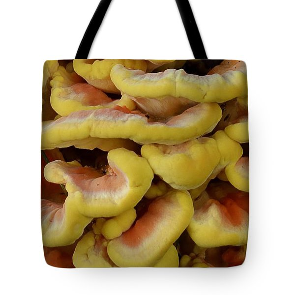 Pretty Chicken Tote Bag by Randy Bodkins