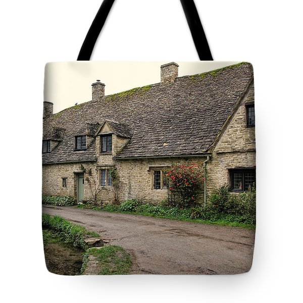 Pretty Cottages All In A Row Tote Bag