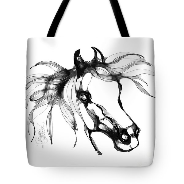 Pretty Filly's Ears Tote Bag