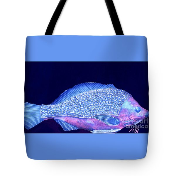 Pretty Fishy Tote Bag