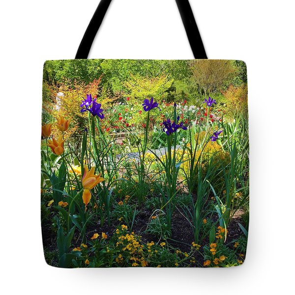 Pretty Flowers Tote Bag by Kay Gilley