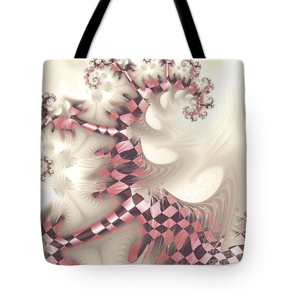 Tote Bag featuring the digital art Pretty Gnarly by Michelle H
