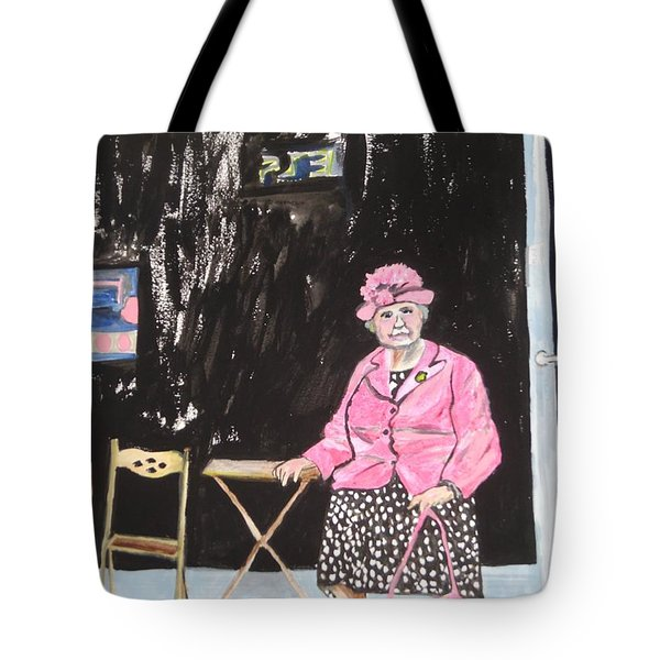 Pretty In Pink Tote Bag by Esther Newman-Cohen
