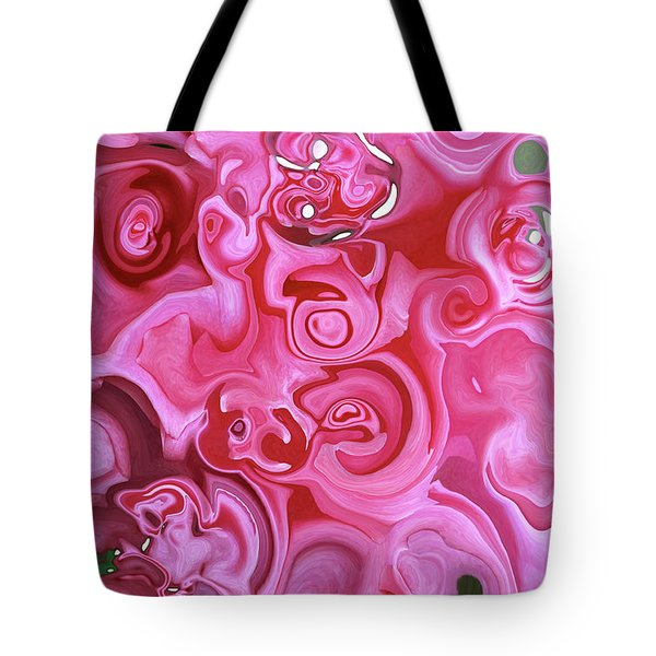 Tote Bag featuring the photograph Pretty In Pink by JoAnn Lense