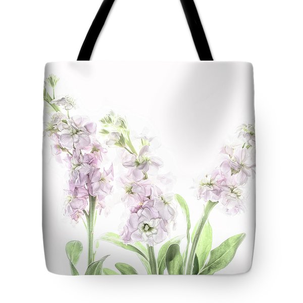 Tote Bag featuring the photograph Pretty In Pink by Rebecca Cozart