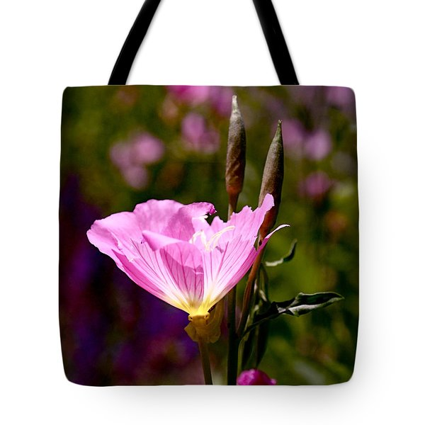 Pretty In Pink Tote Bag by Rona Black