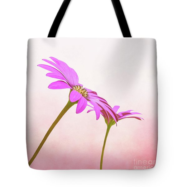Tote Bag featuring the photograph Pretty In Pink by Roy McPeak