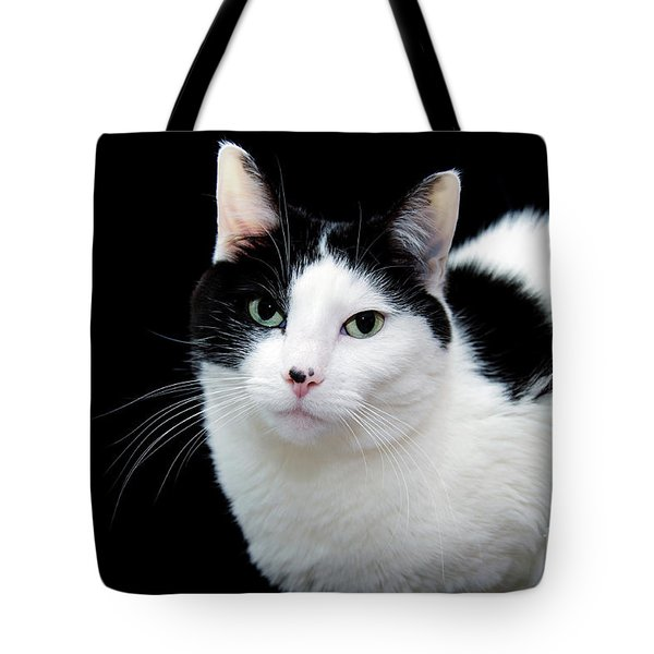 Pretty Kitty Cat 1 Tote Bag by Andee Design