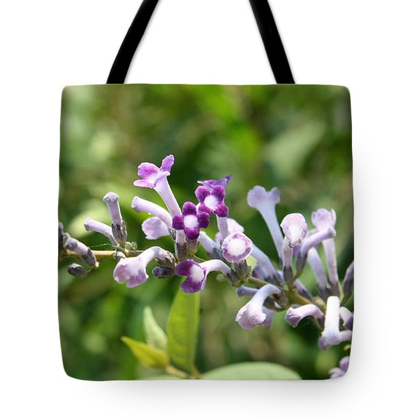 Tote Bag featuring the photograph Pretty Lavender by Ellen Tully