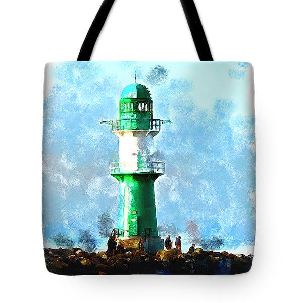 Beautiful Lighthouse  Tote Bag