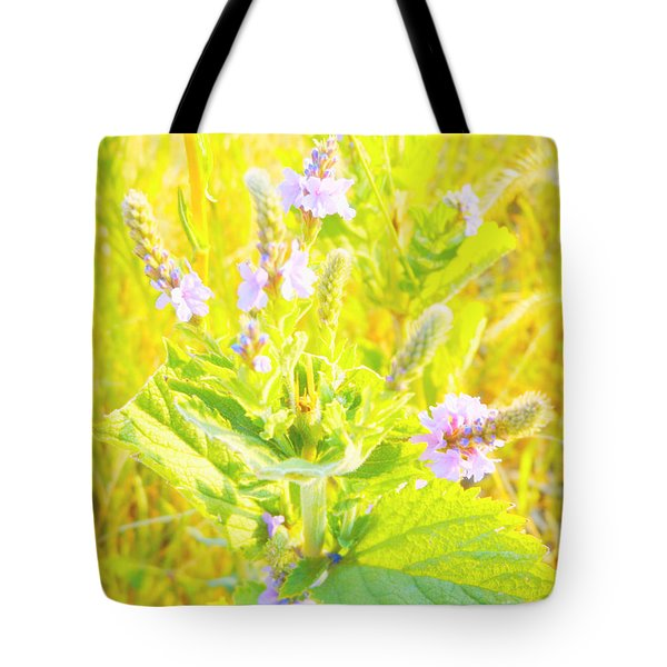 Pretty Lilac Tote Bag