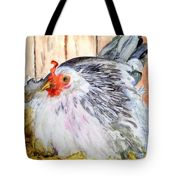Pretty Little Chicken Tote Bag