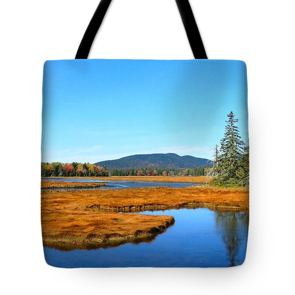Pretty Marsh Tote Bag