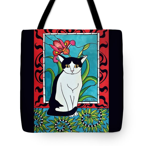 Pretty Me In Tuxedo Tote Bag