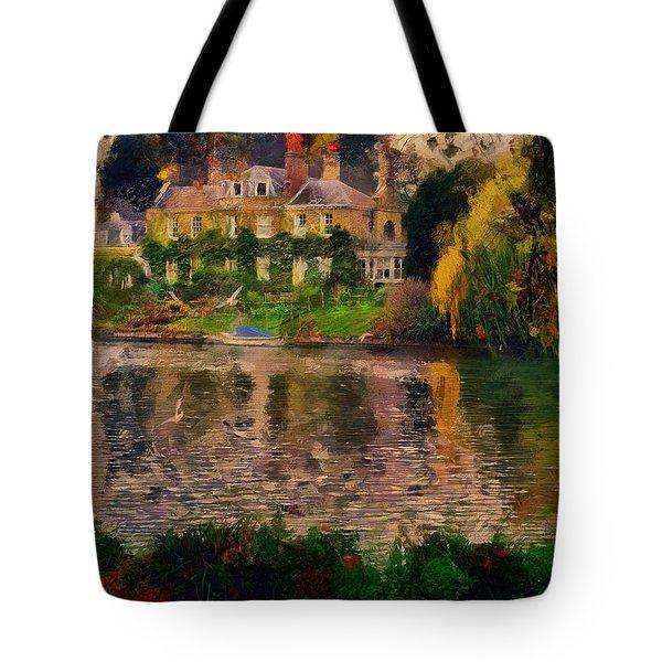 Pretty On The River Tote Bag