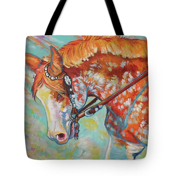 Tote Bag featuring the painting Pretty Paint by Jenn Cunningham