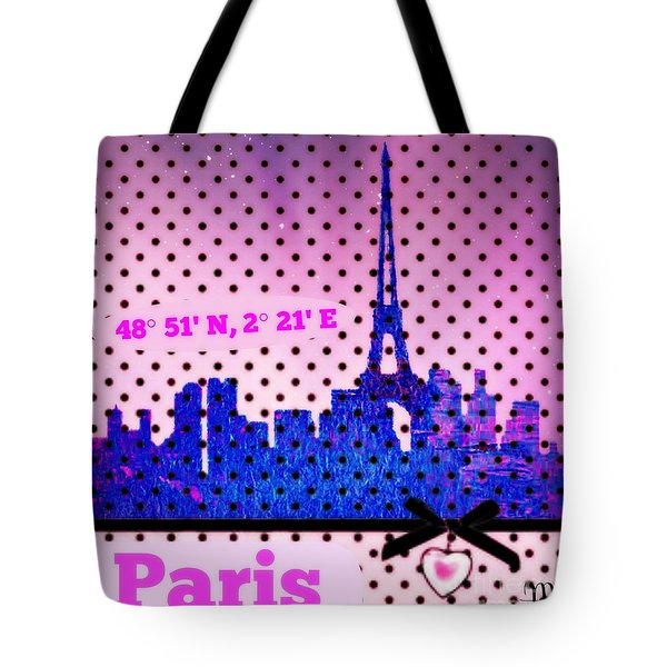 Pretty Paris Mjb Tote Bag