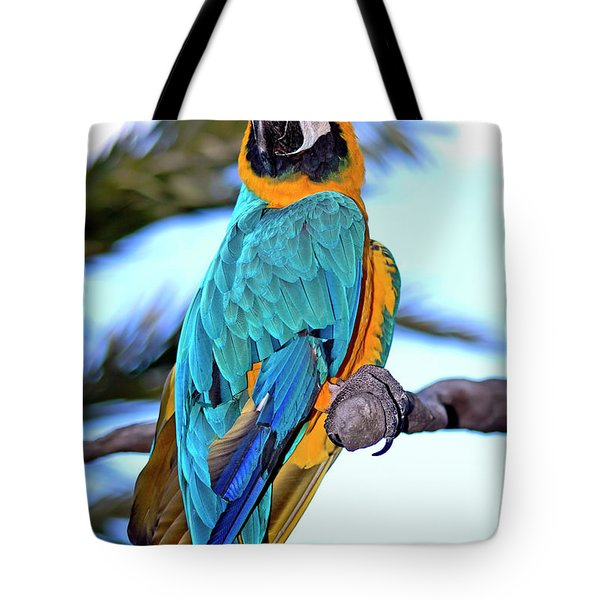 Pretty Parrot Tote Bag