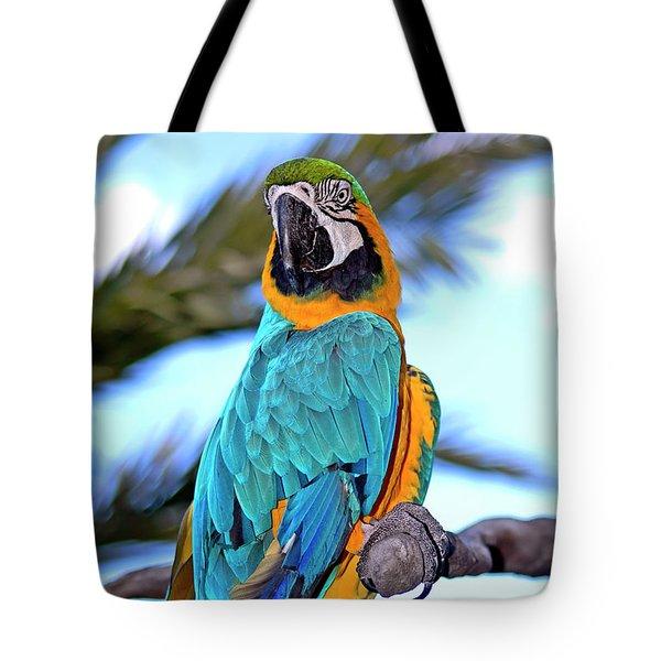 Pretty Parrot Tote Bag