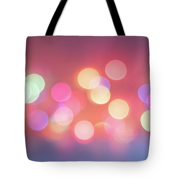 Pretty Pastels Abstract Tote Bag by Terry DeLuco