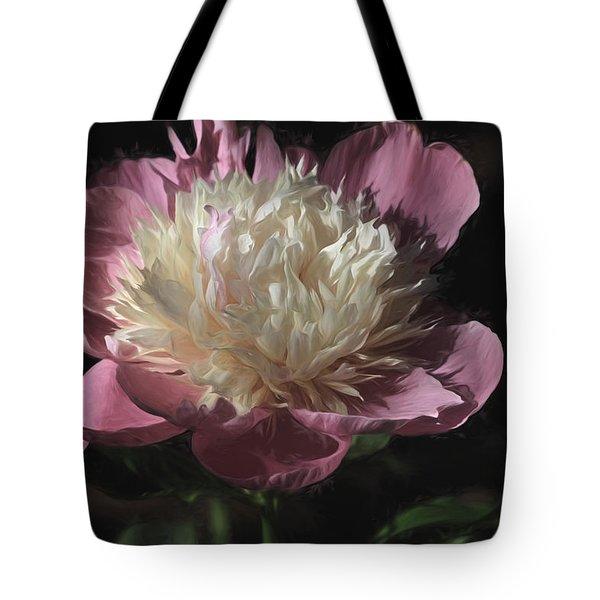 Pretty Peony Tote Bag by Donna Kennedy