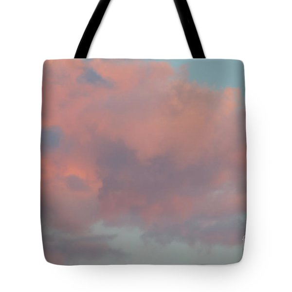 Tote Bag featuring the photograph Pretty Pink Clouds by Ana V Ramirez