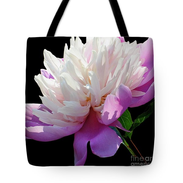 Pretty Pink Peony Flower Wall Art Tote Bag