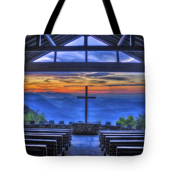 Pretty Place Chapel Sunrise 777  Tote Bag