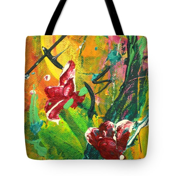 Pretty Posies Tote Bag