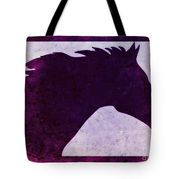 Pretty Purple Horse  Tote Bag