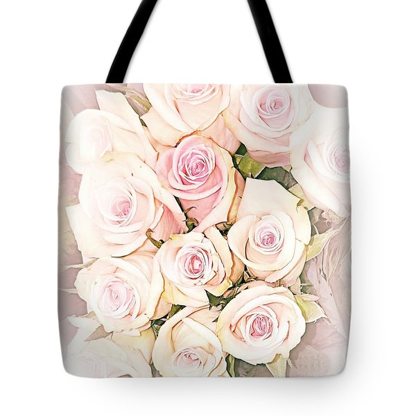 Pretty Roses Tote Bag