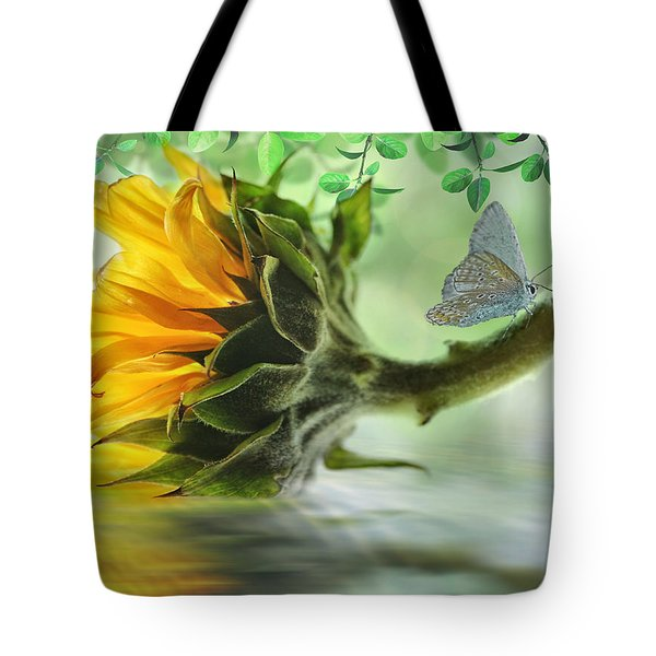 Pretty Sunflower Tote Bag