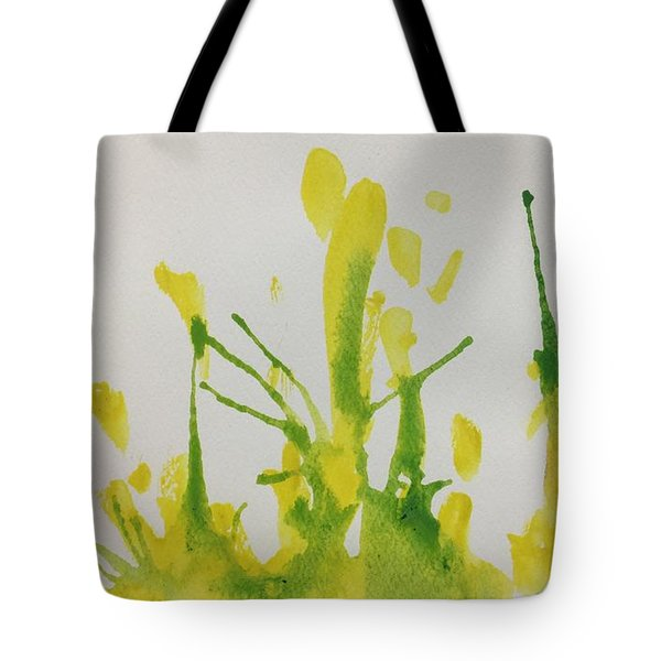 Pretty Weeds Tote Bag