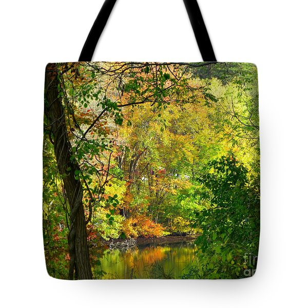 Prettyboy Of Autumn Tote Bag