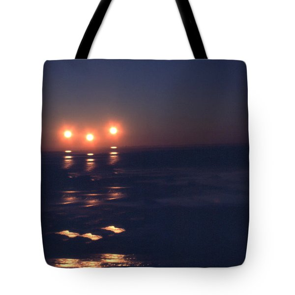 Preventing Sunset Tote Bag