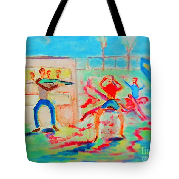 Prevention Of Shootings Memorial Tote Bag