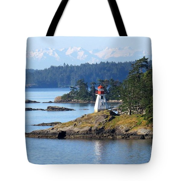 Prevost Island Lighthouse Tote Bag