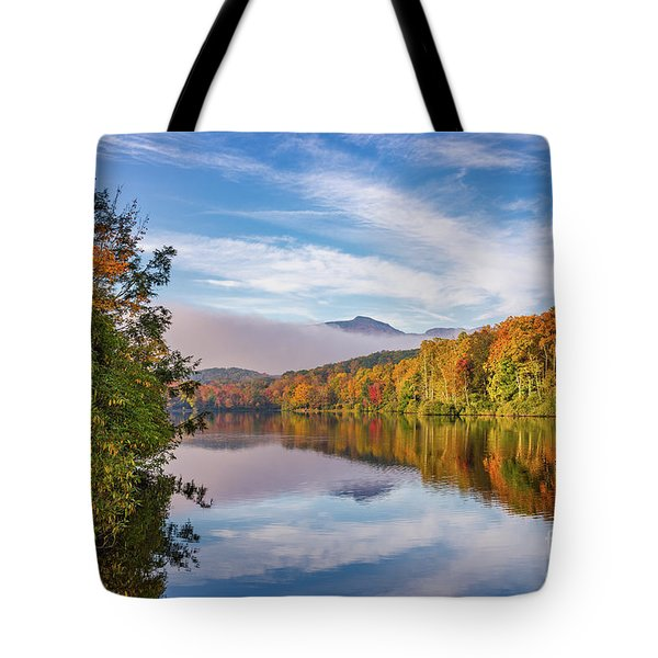 Price Lake Autumn Tote Bag