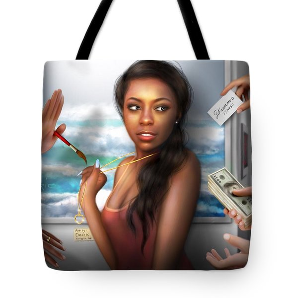 Tote Bag featuring the digital art Priceless by Dedric Artlove W