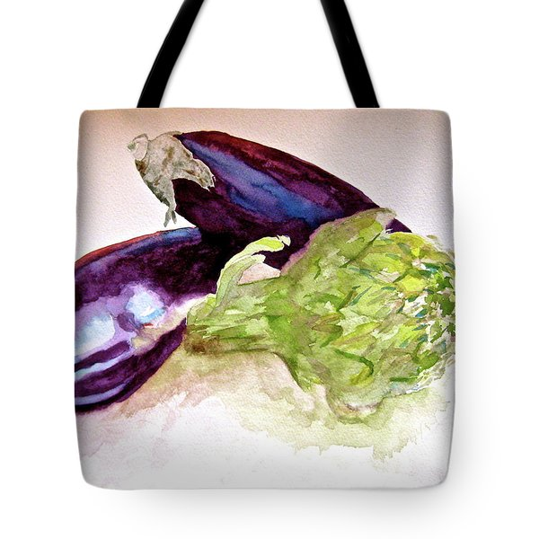 Tote Bag featuring the painting Prickly And Voluptuous by Beverley Harper Tinsley