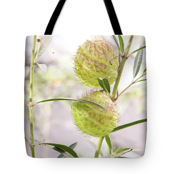 Tote Bag featuring the photograph Prickly Balls by Deborah  Crew-Johnson