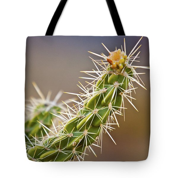 Prickly Branch Tote Bag