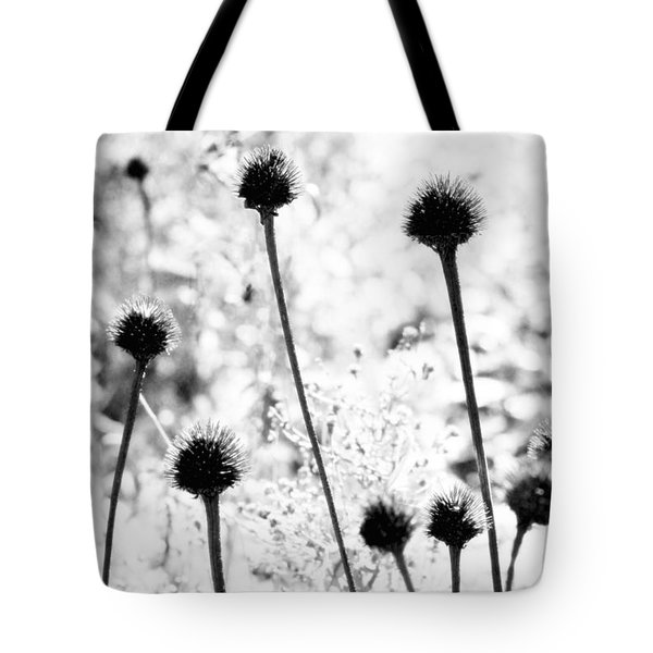 Tote Bag featuring the photograph Prickly Buds by Deborah  Crew-Johnson