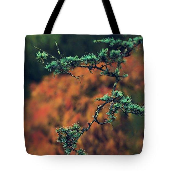Prickly Green Tote Bag