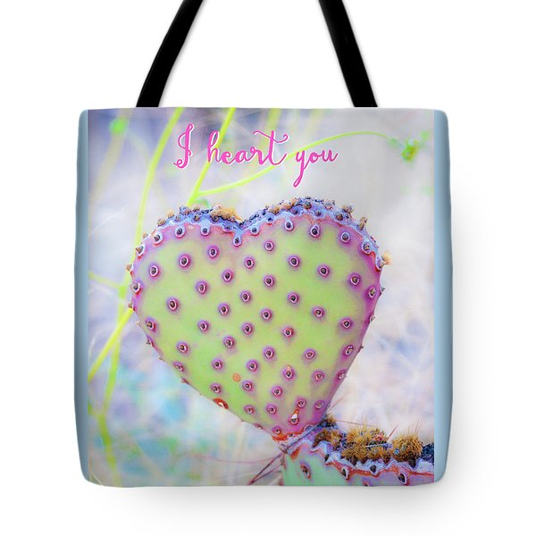 Prickly Heart Tote Bag