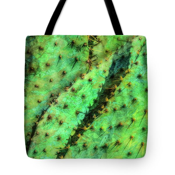 Tote Bag featuring the photograph Prickly by Paul Wear