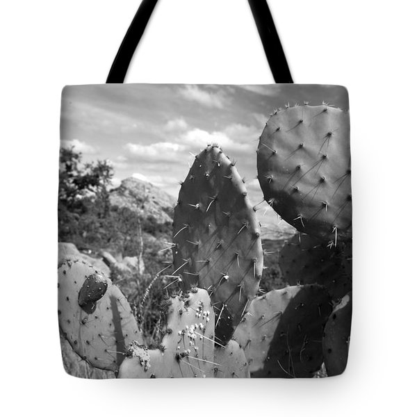 Prickly Pear At Enchanted Rock Tote Bag