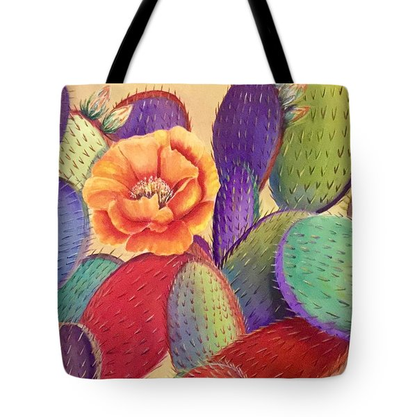 Prickly Rose Garden Tote Bag