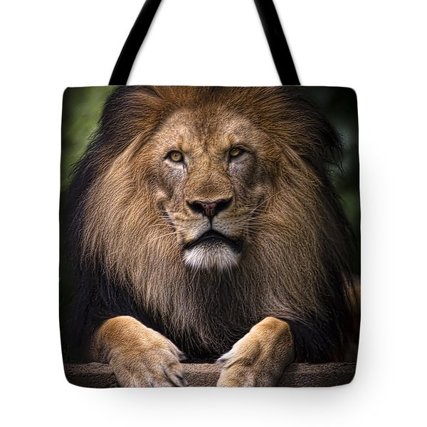 Tote Bag featuring the photograph Pride by Cheri McEachin